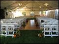 off premise wedding on long island ceremony setup