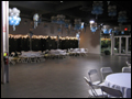 Long Island caterer for corporate events has set up the dinner tables