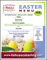 easter catering menu