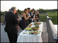 catered East End vineyard wedding