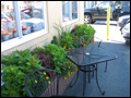 outside seating is available during spring and summer