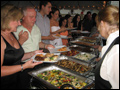 buffet style wedding catering