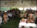 catered backyard wedding